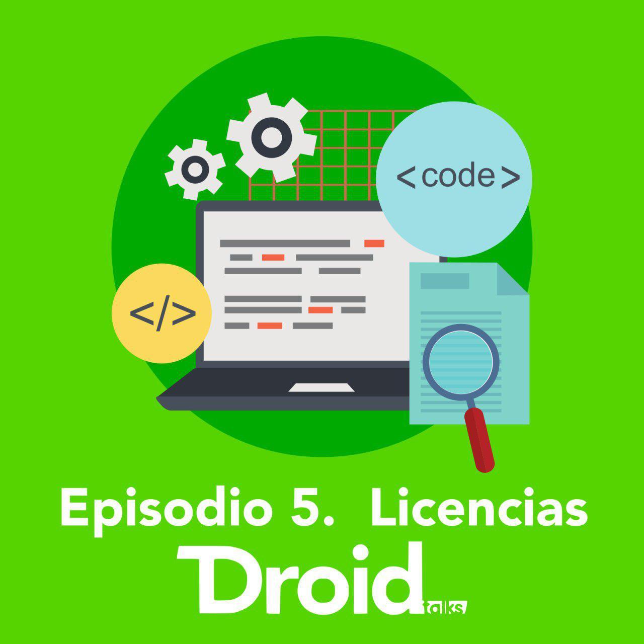 Hablando de licencias en DroidTalks
