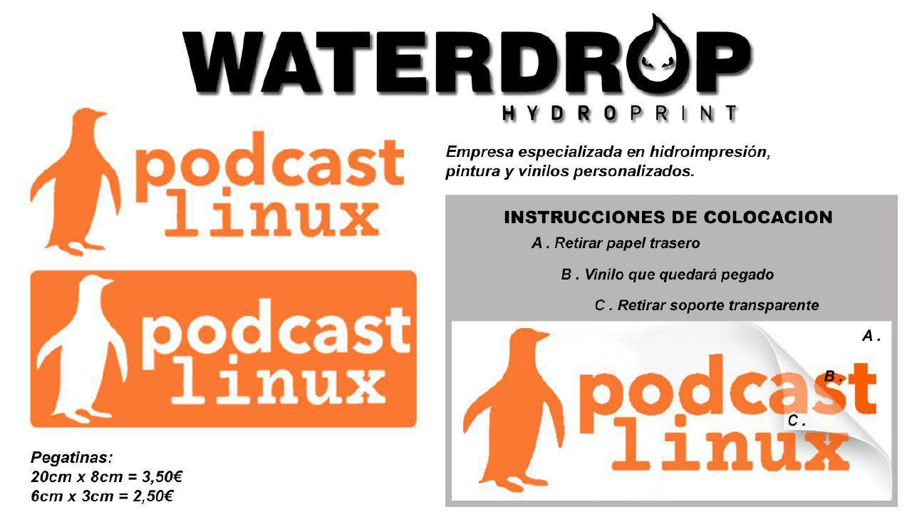 Pegatinas Podcast Linux