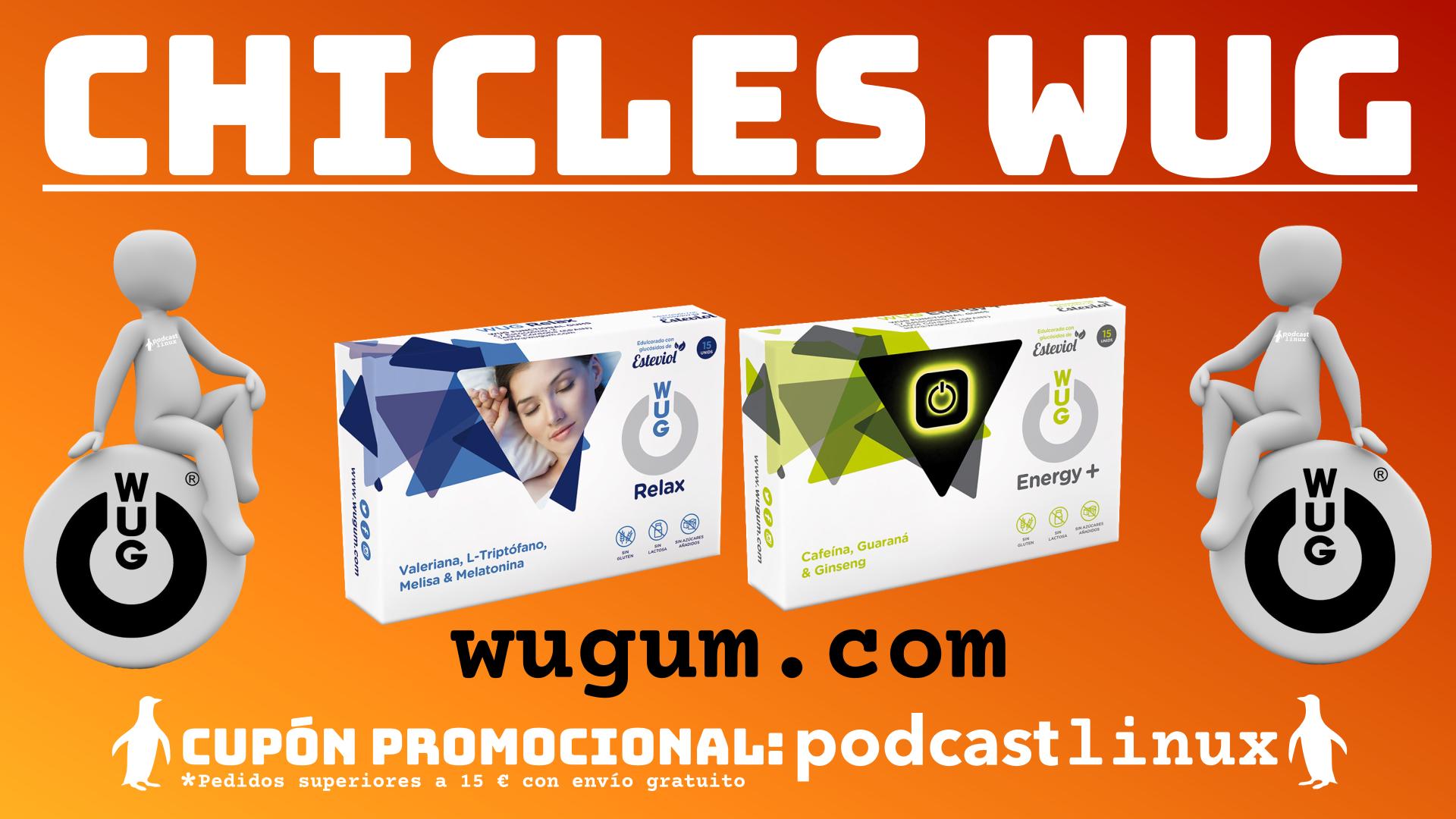 Chicles funcionales WUG