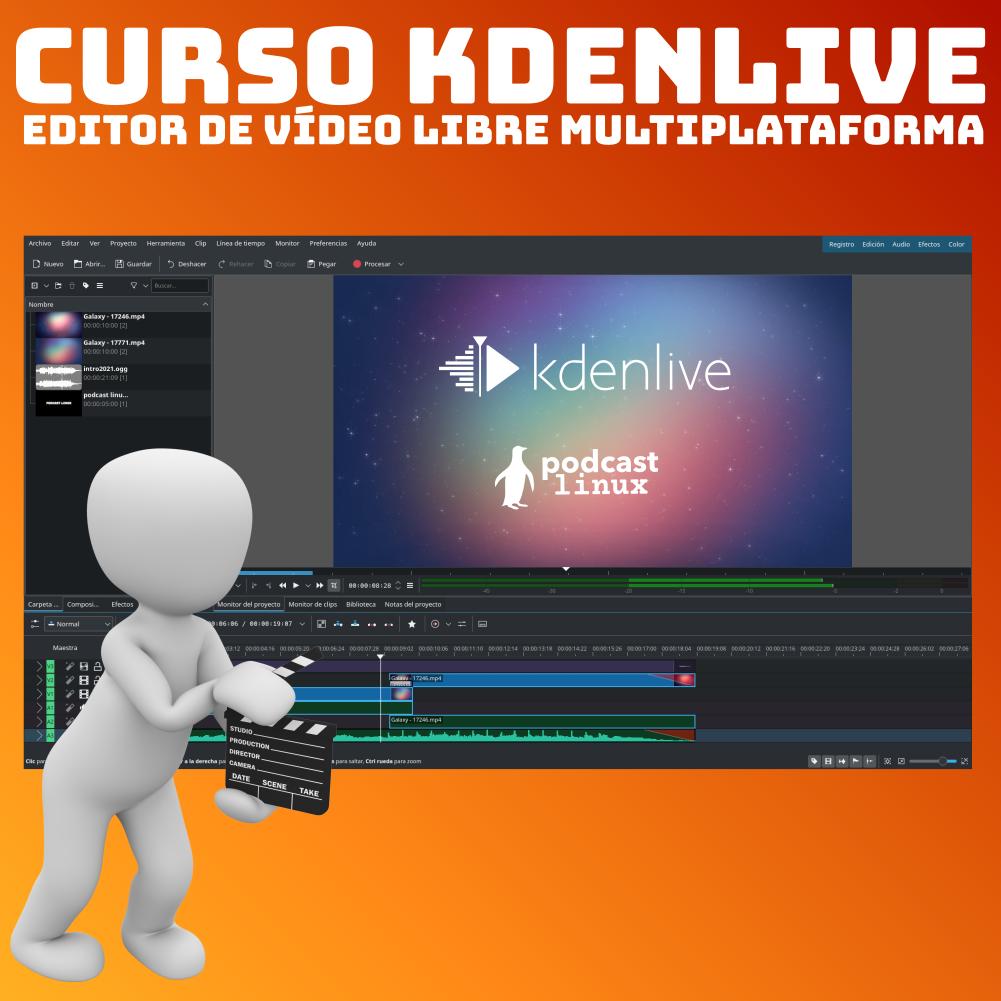 Curso Edición de vídeo con Kdenlive