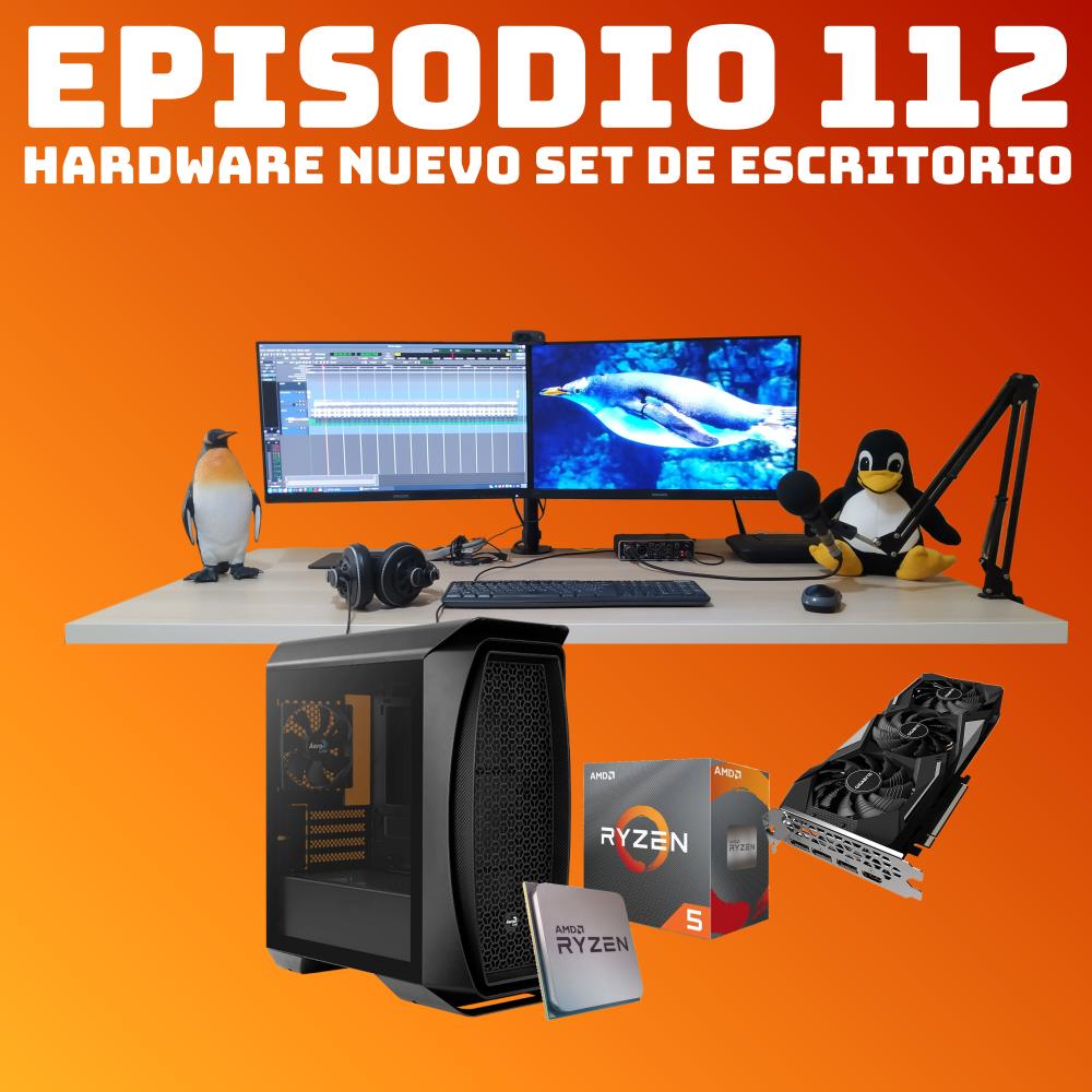 #112 Hardware Nuevo Set de Escritorio
