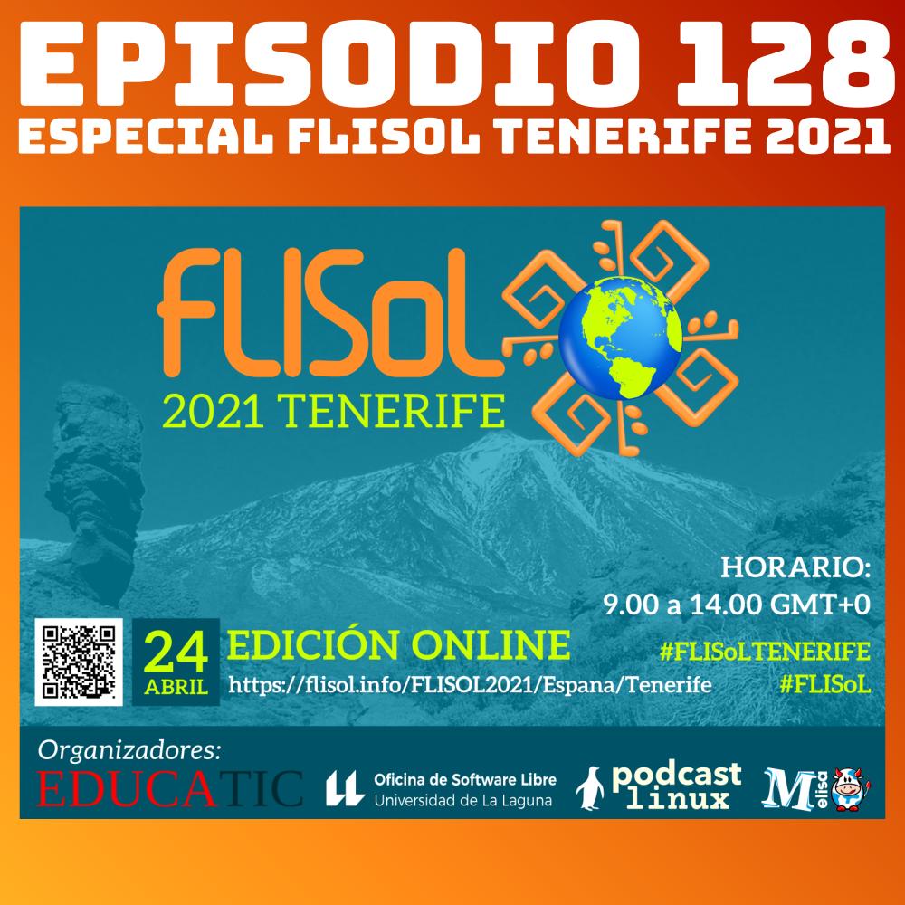 #128 Especial FLISoL Tenerife 2021